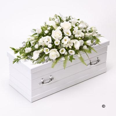 Childrens Casket Spray   White *
