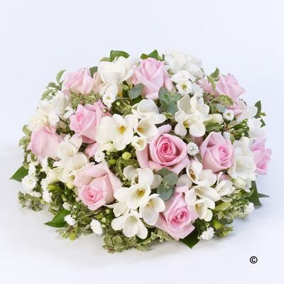 Scented Posy  Pink and White *